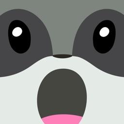 Raccoon Emojis