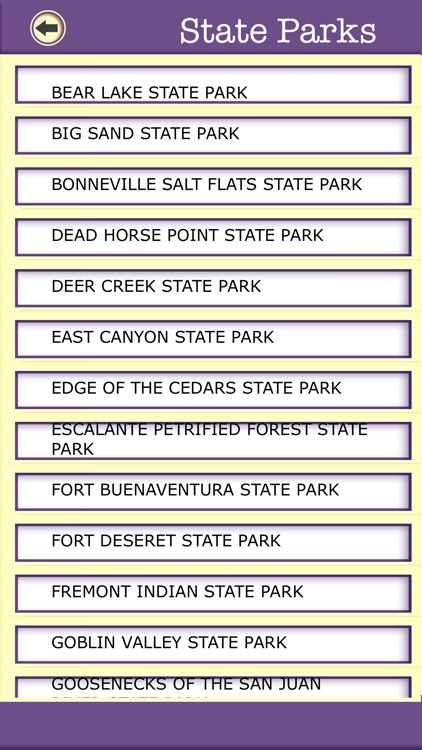 Utah Campgrounds & Hiking Trails,State Parks screenshot-4