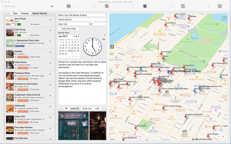 Camtinerary скриншот программы 2