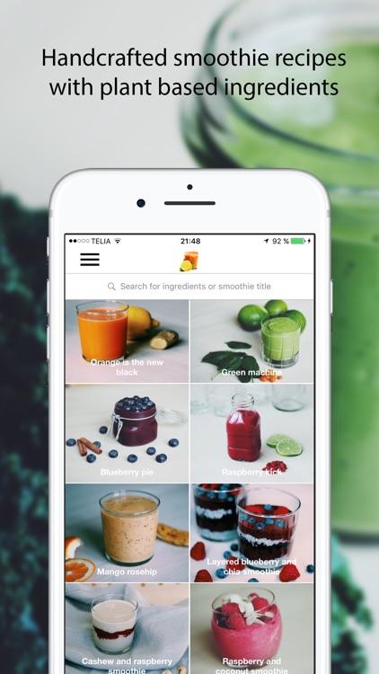 Smoothie Box - Healthy Vegan Recipes screenshot-0