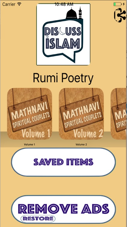 Rumi Poetry - Mathnavi (6 Volume Set) ( Mystic )