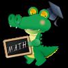 CrocoMath - Your Math Teacher is a cute Crocodile!
