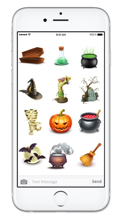 Fun 3D Halloween Sticker Pack screenshot-4