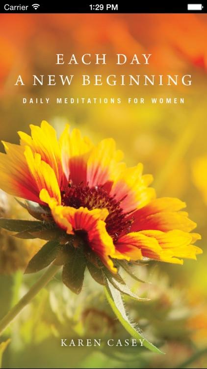 Each Day a New Beginning: Meditations for Women