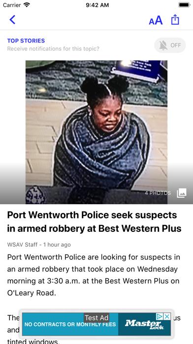 Wsav News review screenshots