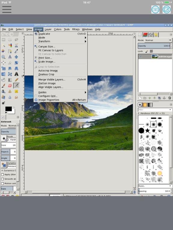 XGimp Image Editor Paint Tool