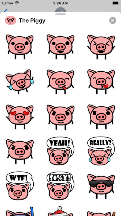 The Piggy Stickers Screenshot