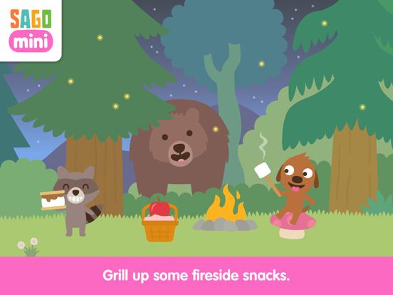 Sago Mini Camping screenshot 12