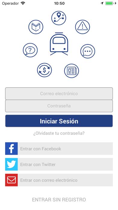 Metro de Panamá Oficial screenshot two