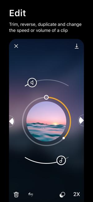 Spark Camera & Video Editor Screenshot