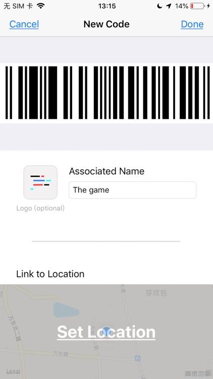 Quick Location Code