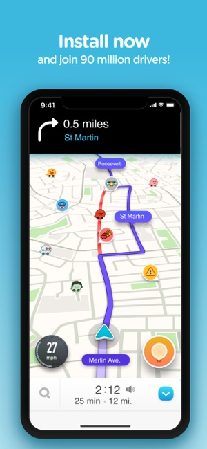 лучшая навигация для iphone
