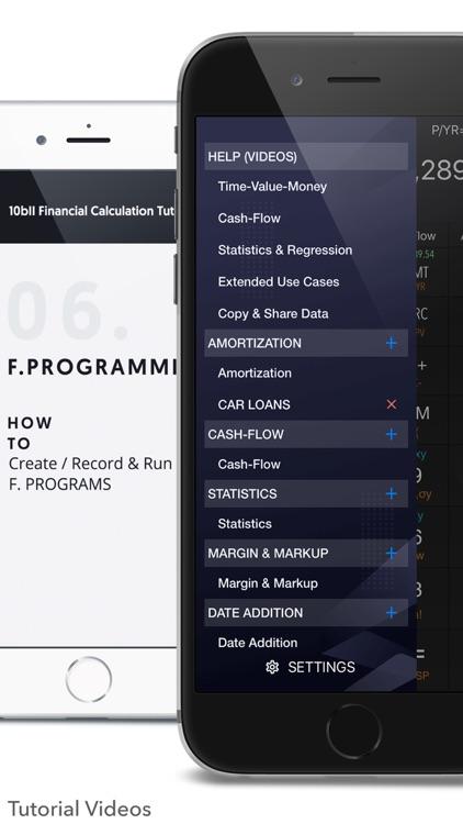 10bII Financial Calculator PRO screenshot-6