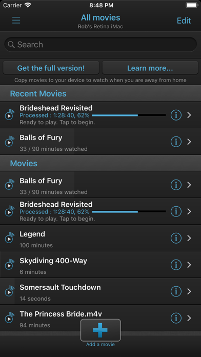 Screenshot for VLC Streamer Lite in South Africa App Store