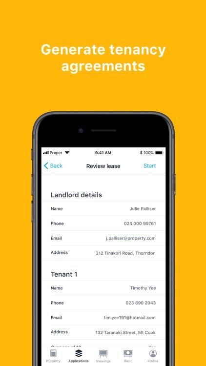 Proper - Rental Management screenshot-3