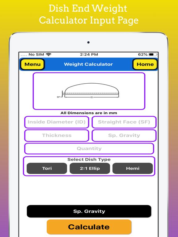 Fabrication Weight Calculator screenshot 13