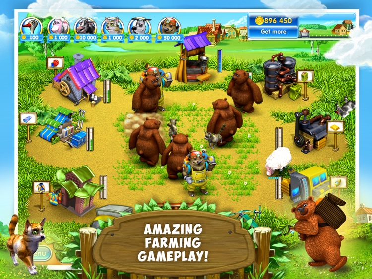 Farm Frenzy 3: Village HD Lite screenshot-4