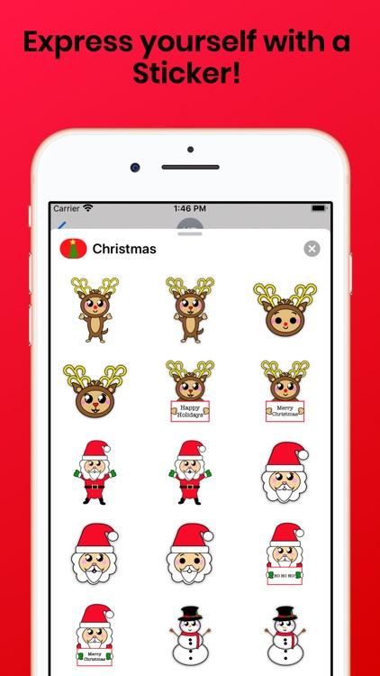 Christmas Holiday for iMessage screenshot-3