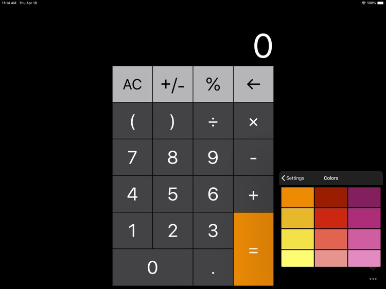 Calculator for iPad + screenshot-3