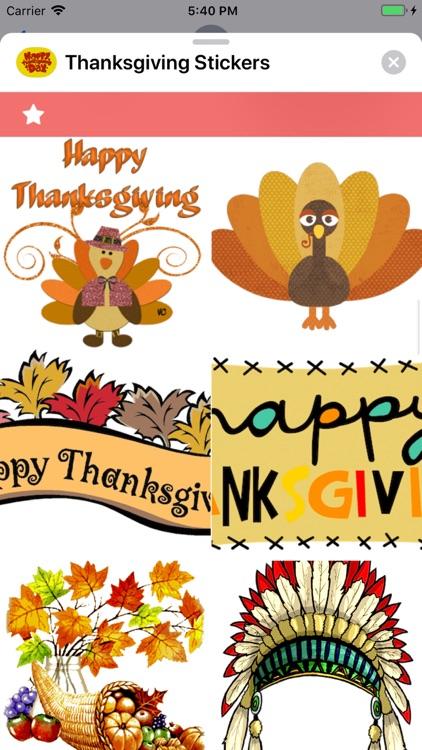 Thanksgiving Stickers screenshot-3