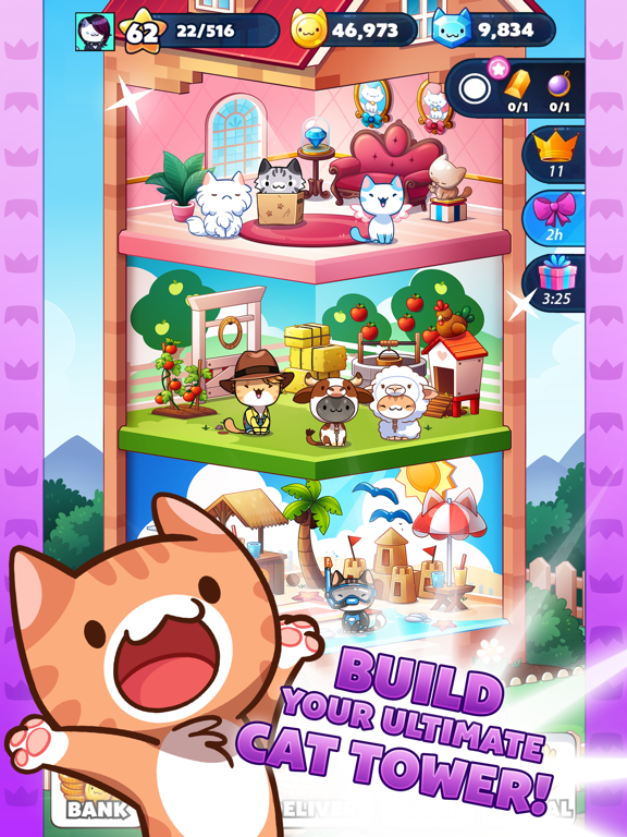 Cat Game - The Cats Collector! screenshot 9