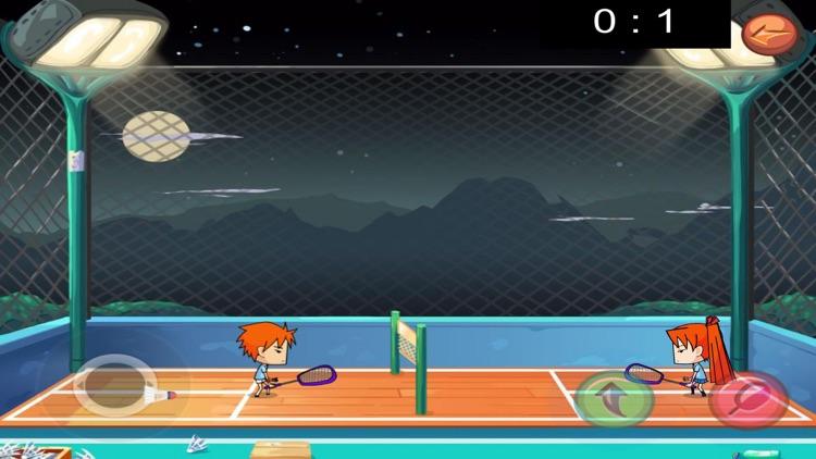 Cute of badminton screenshot-3