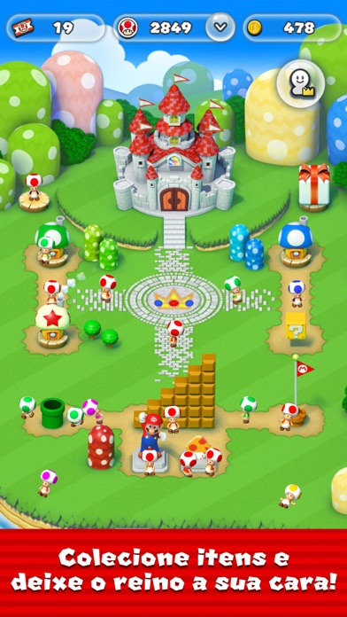 Screenshot for Super Mario Run in Brazil App Store