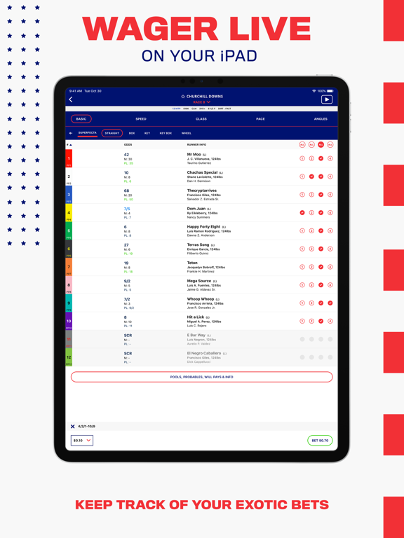 BetAmerica: Horse Betting & Greyhound Races – Live Racing Odds & Results screenshot
