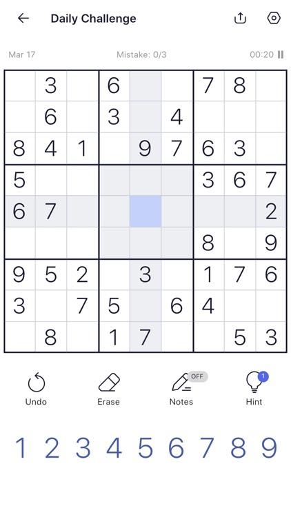 Sudoku: Sudoku Puzzle Games screenshot-3