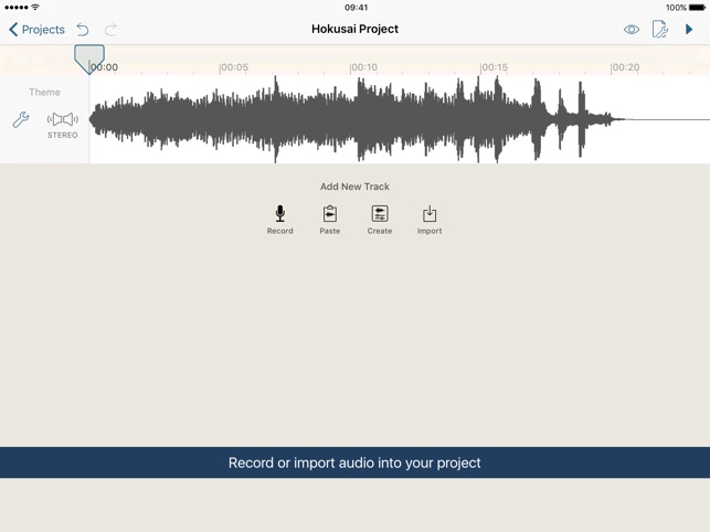 Hokusai Audio Editor on the App Store