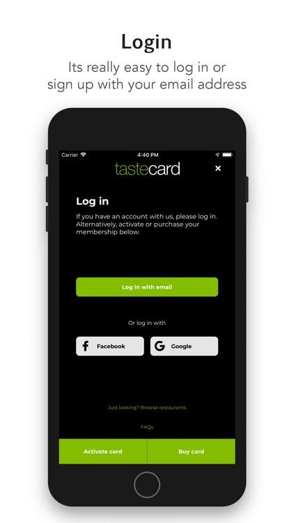tastecard dining discounts