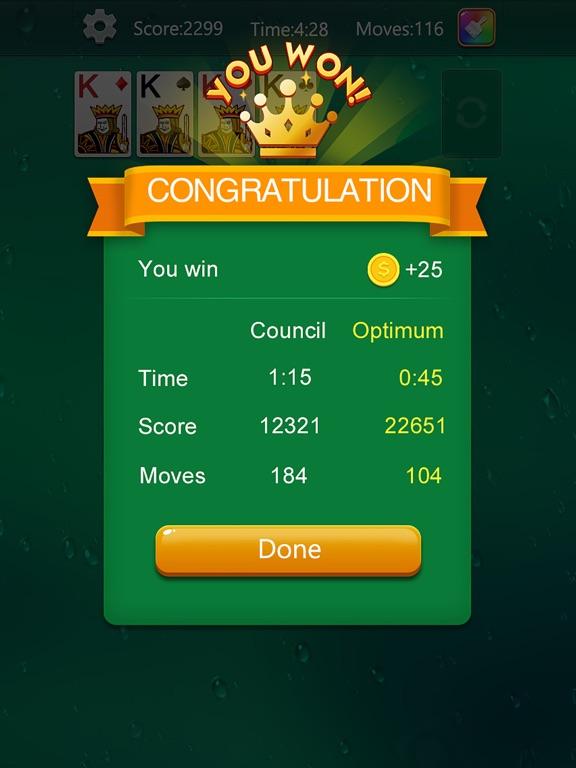 Solitaire Fun Card Games screenshot 5