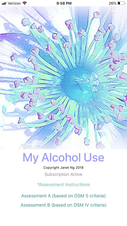 My Alcohol Use (Assessment) screenshot-0