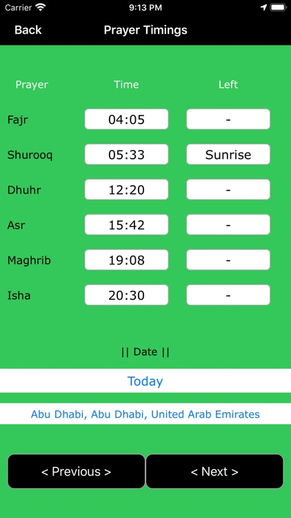Qibla Finder : Prayer Timings screenshot-3
