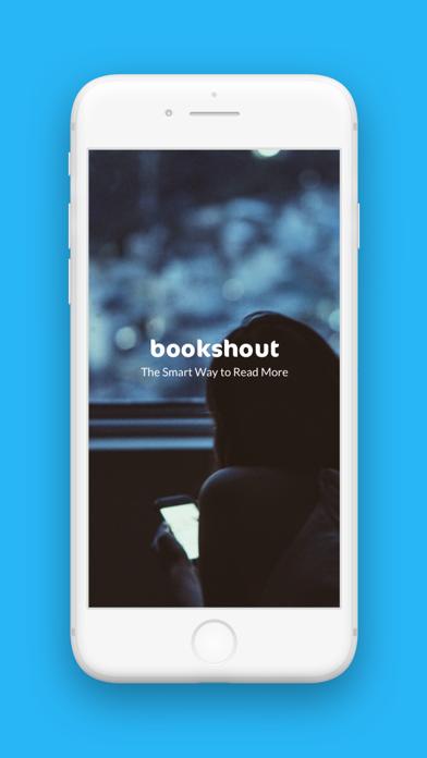 Bookshout review screenshots