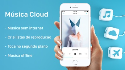 Screenshot for Musica Offline - music player in Portugal App Store