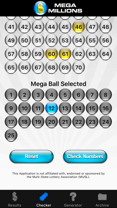 Mega Millions Lottery screenshot four