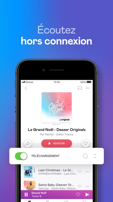 Télécharger Deezer: Playlists & Podcasts pour Pc