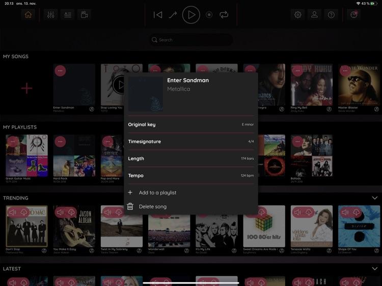 JamFactory - Multitrack Tunes screenshot-8