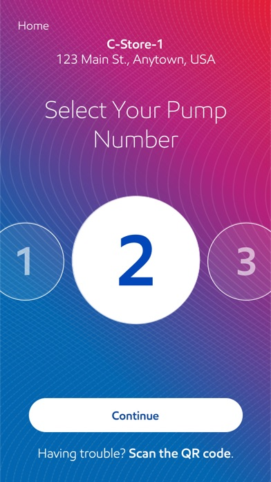 Screenshot for Exxon Mobil Speedpass+ in United States App Store