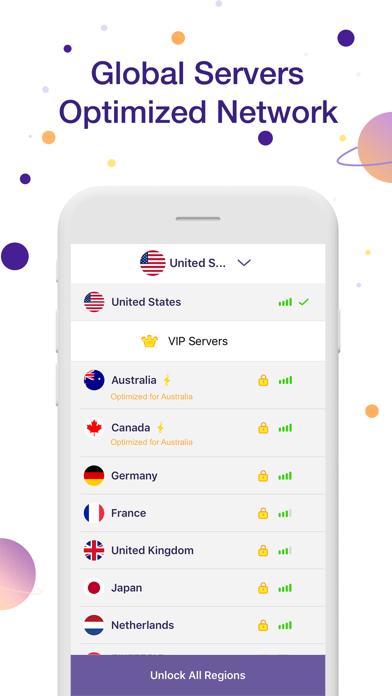 Planet VPN - 超簡単、高速かつ安全のおすすめ画像3
