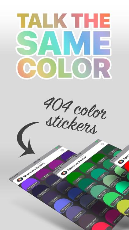 Spectrum Swatch Stickers