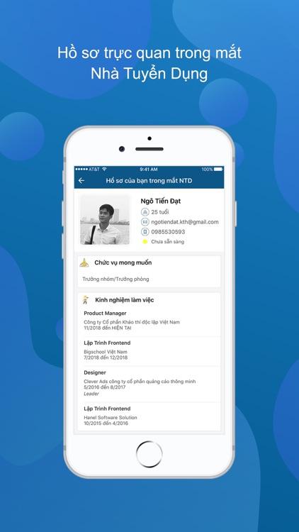 JobsGO: Việc Làm Tìm Đến Bạn screenshot-3