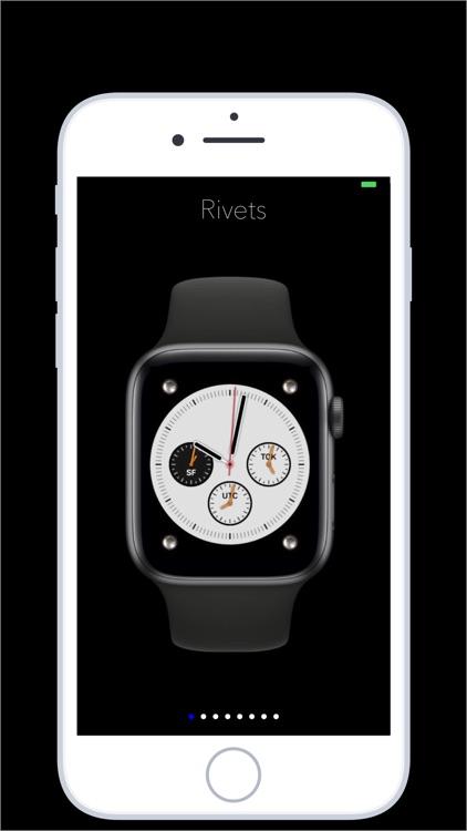 Rivets - rugged watch faces screenshot-3