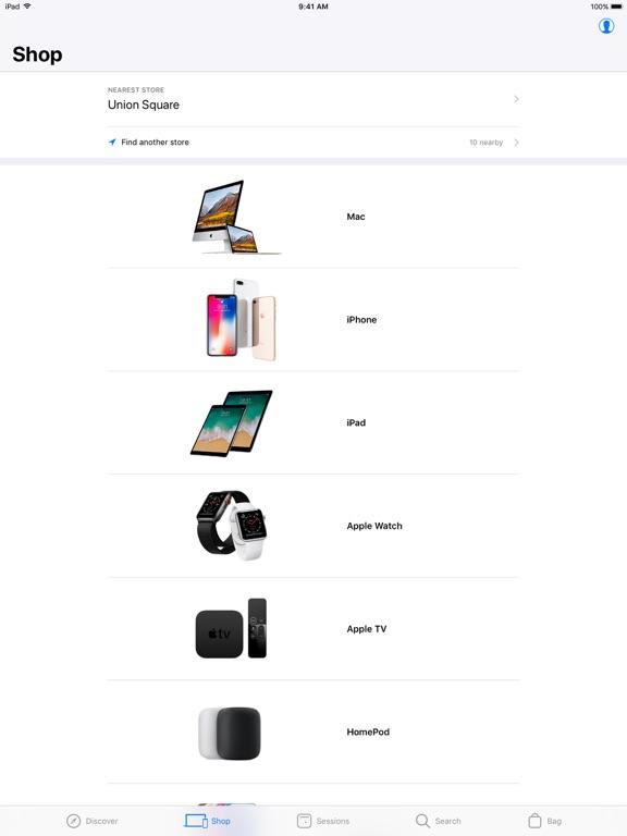 Screenshot #2 for Apple Store