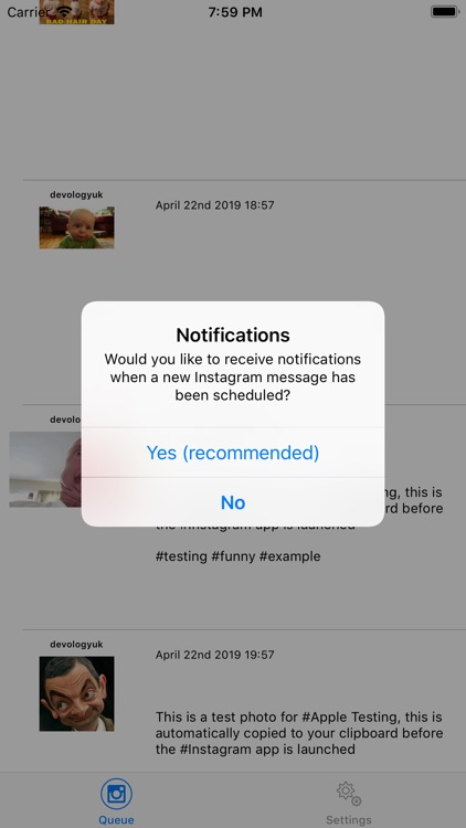 Social Scheduler App screenshot-2