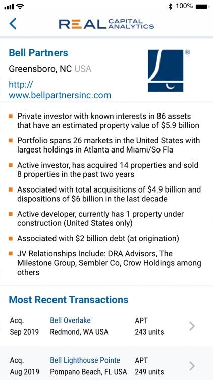 Real Capital Analytics screenshot-3