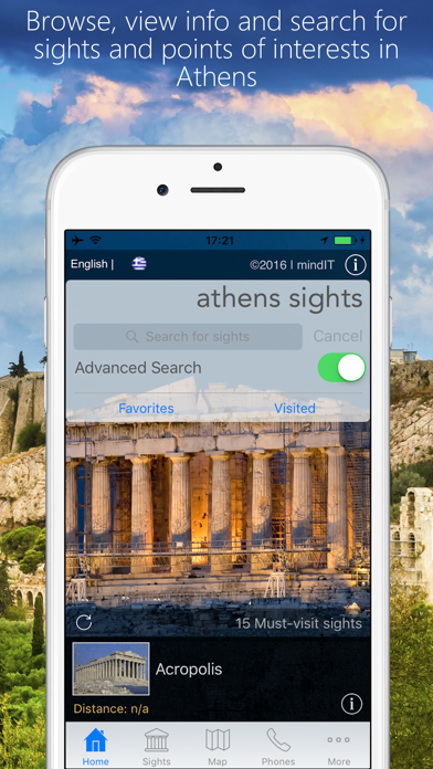 Athens Sights screenshot one