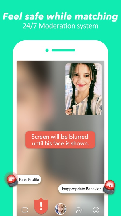 HOLLA: live random video chat