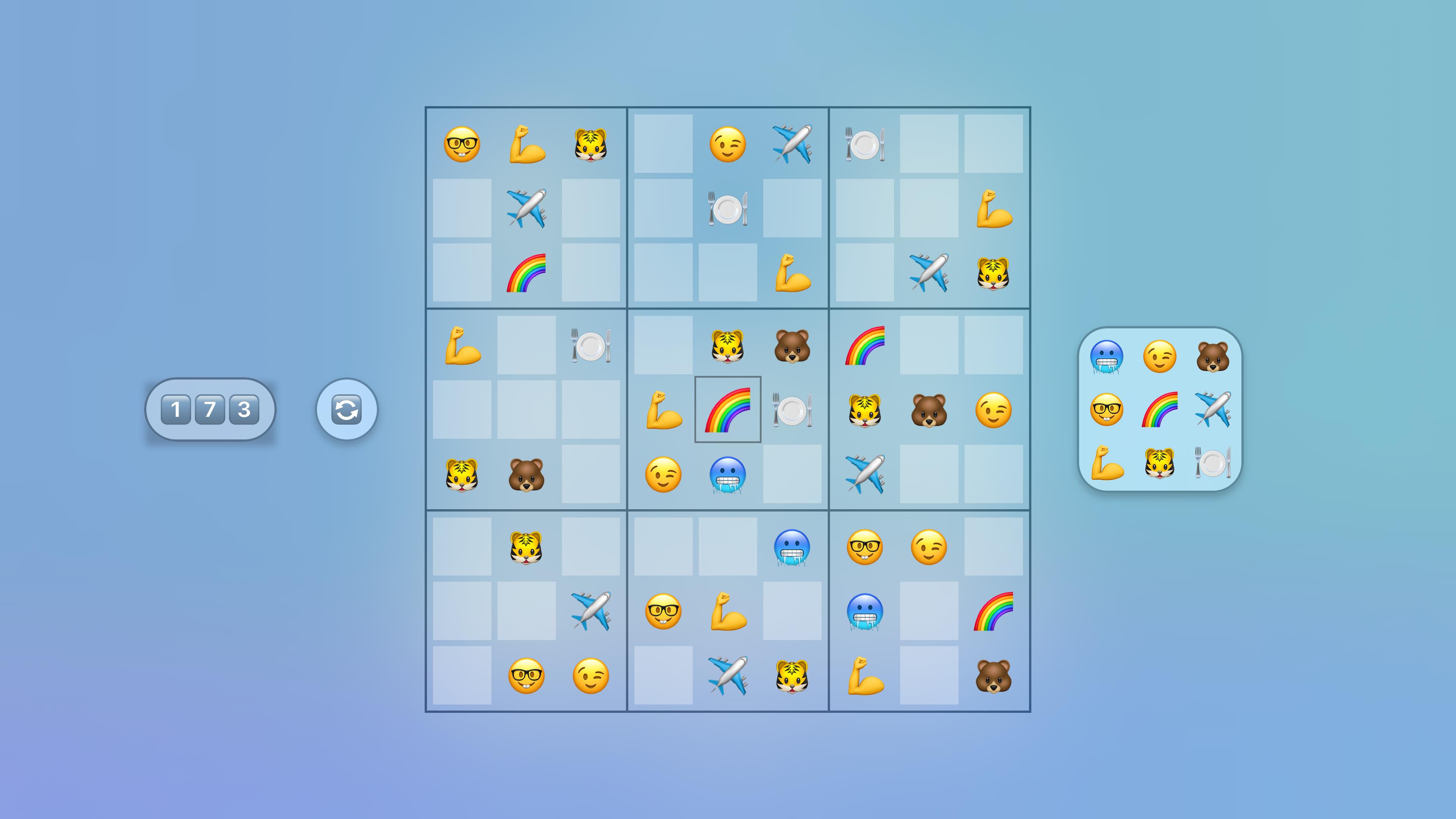 Jan's Emoji Sudoku screenshot 8